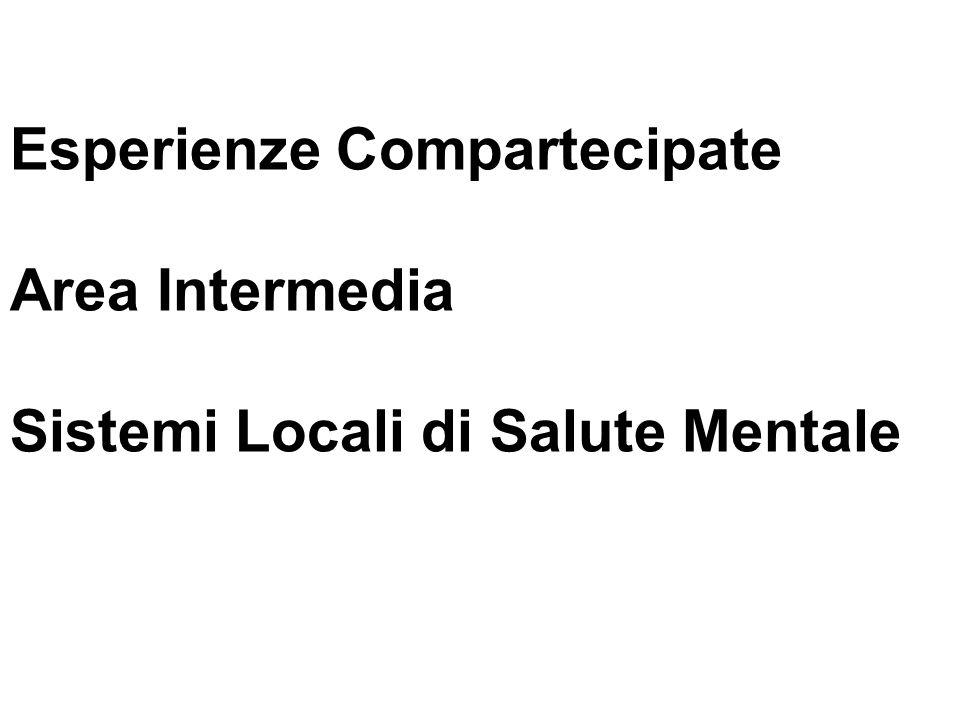 Esperienze Compartecipate Area Intermedia Sistemi Locali di Salute Mentale