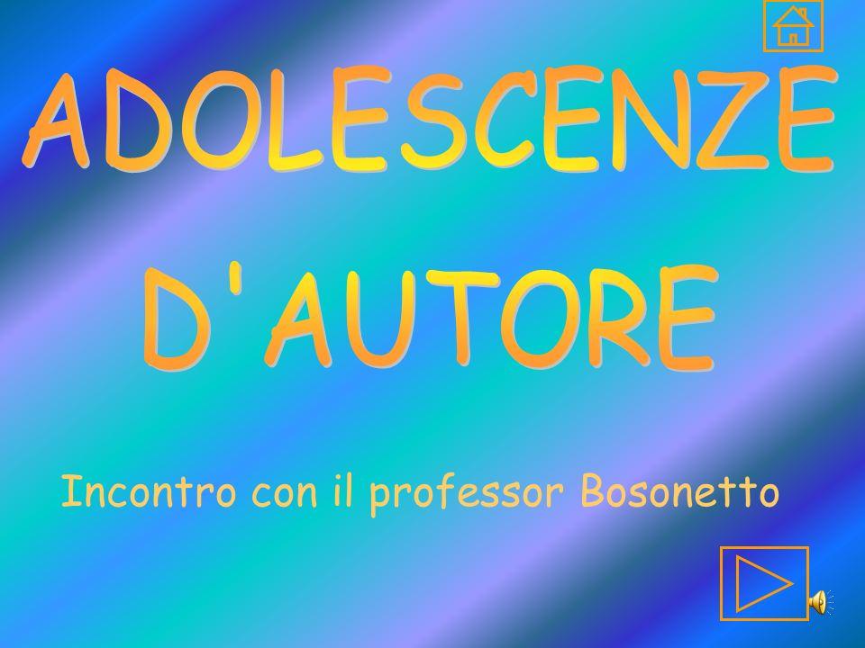 Incontro con il professor Bosonetto