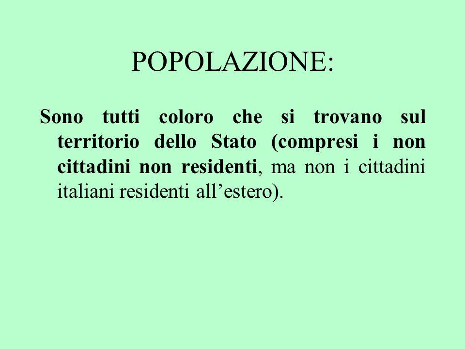 Libertà di emigrazione Garantire la libertà di emigrazione vuol dire che il fenomeno dei flussi migratori era presente in Italia ma solo in uscita.