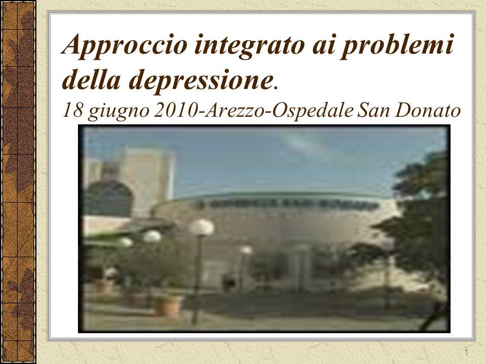 2 Lo psichiatra, il servizio e il medico di base nel trattamento del paziente depresso.