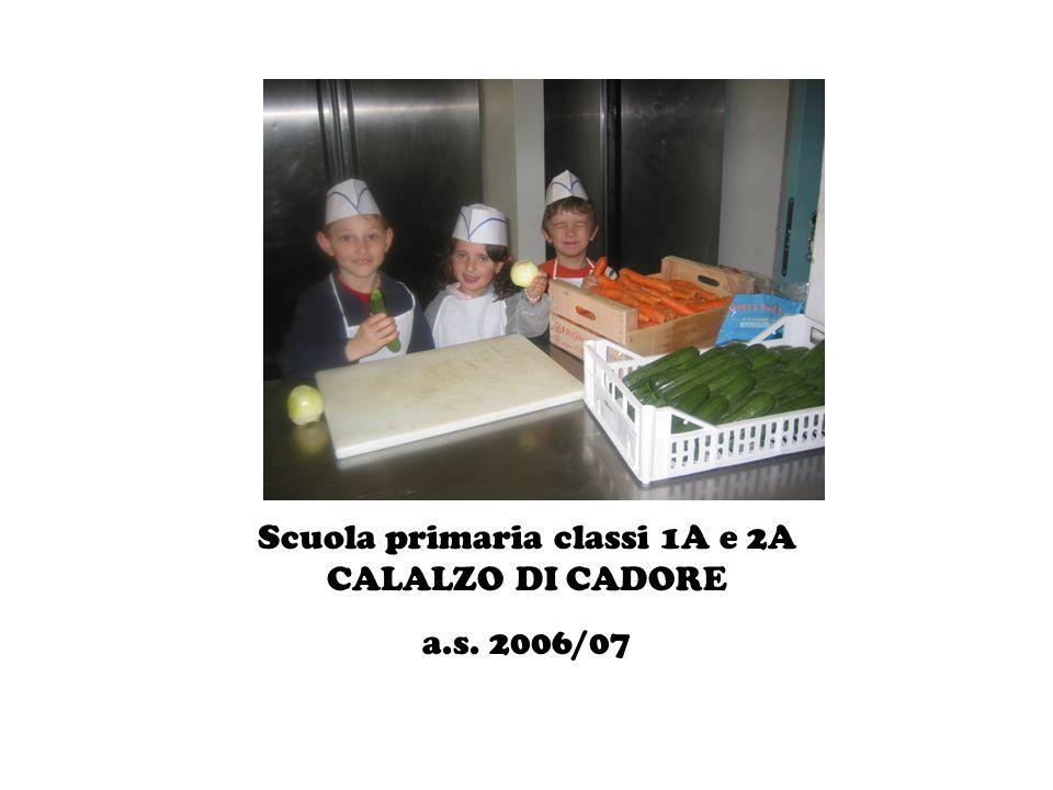 Scuola primaria classi 1A e 2A CALALZO DI CADORE a.s. 2006/07