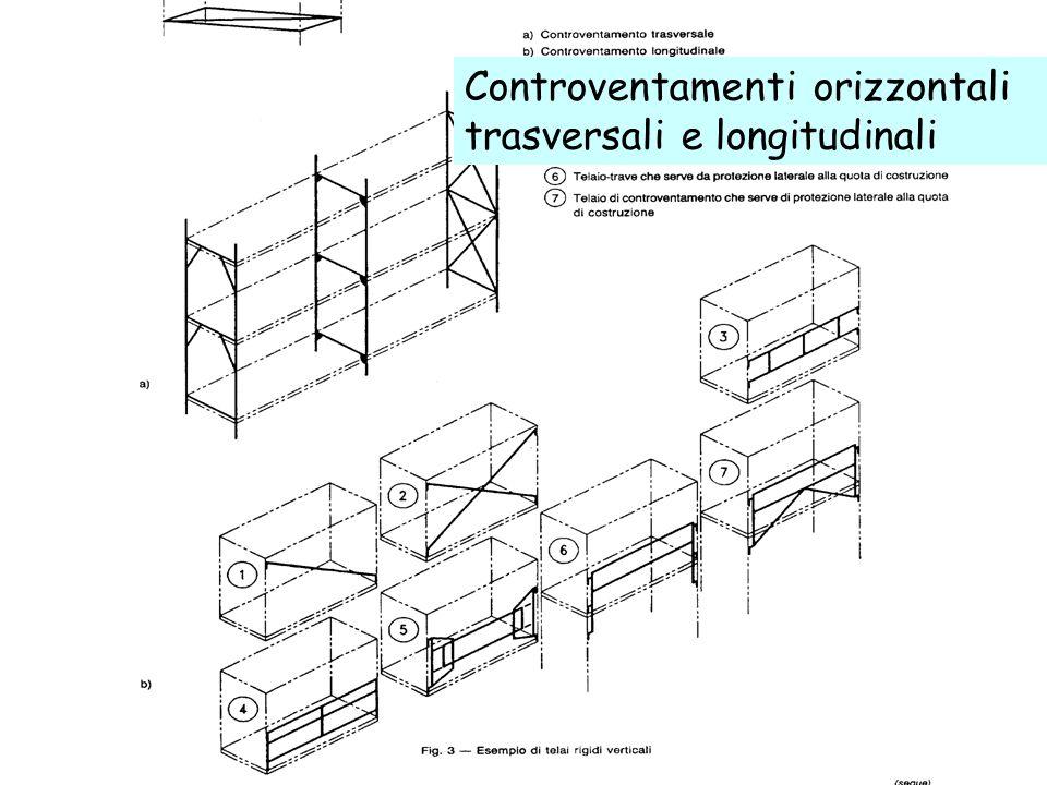 64 Controventamenti orizzontali trasversali e longitudinali