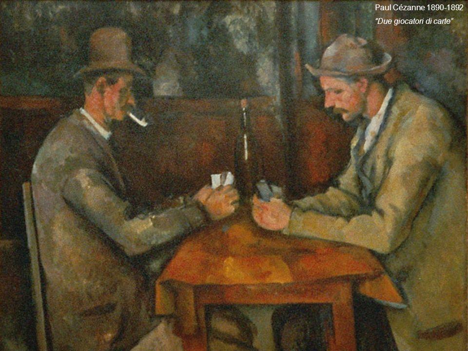 Paul Cézanne 1890-1892 Due giocatori di carte