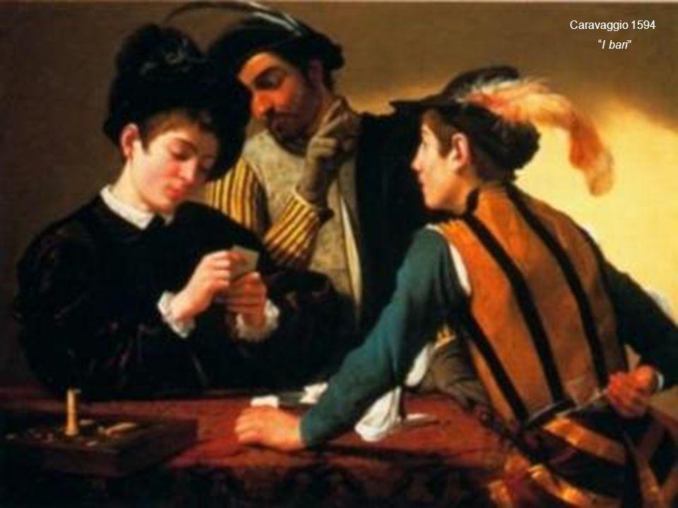 Caravaggio 1594 I bari