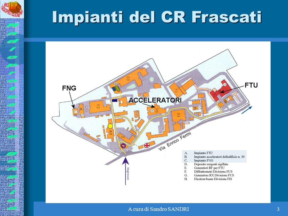 A cura di Sandro SANDRI3 Impianti del CR Frascati