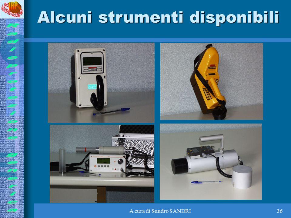 A cura di Sandro SANDRI36 Alcuni strumenti disponibili