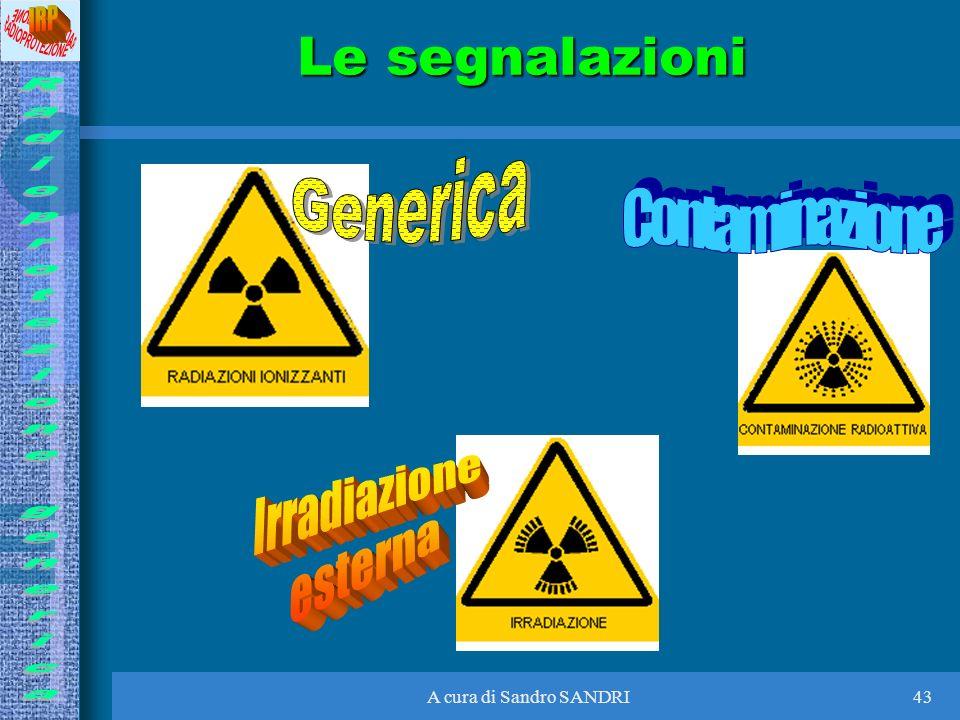 A cura di Sandro SANDRI43 Le segnalazioni