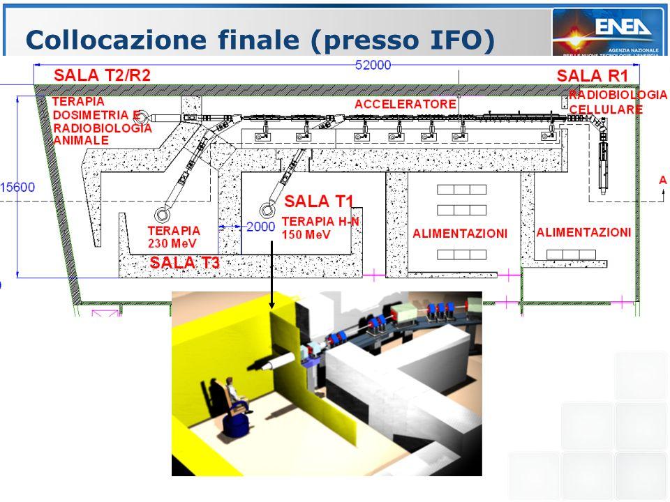 Collocazione finale (presso IFO)