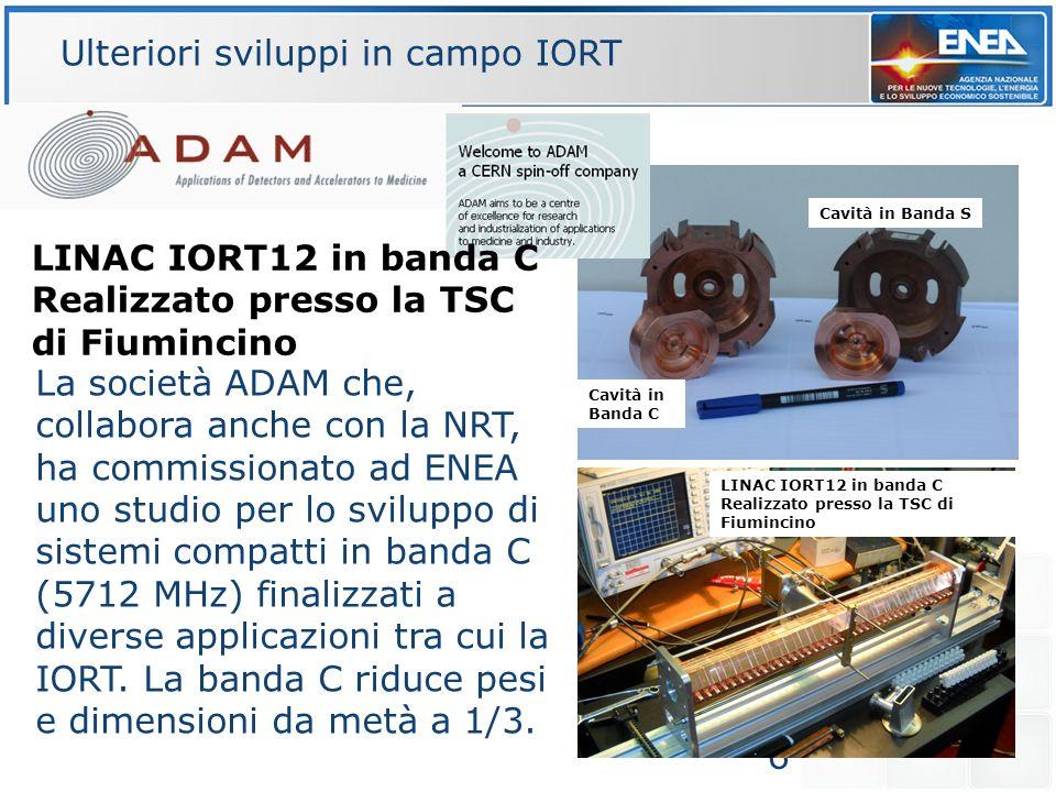 6 La società ADAM che, collabora anche con la NRT, ha commissionato ad ENEA uno studio per lo sviluppo di sistemi compatti in banda C (5712 MHz) final