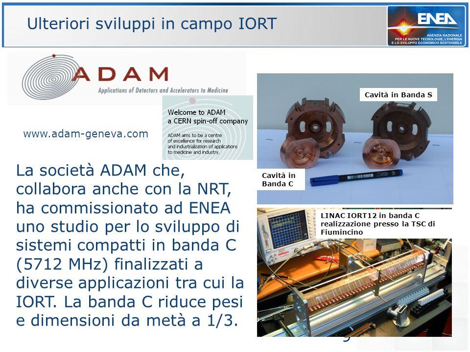 9 La società ADAM che, collabora anche con la NRT, ha commissionato ad ENEA uno studio per lo sviluppo di sistemi compatti in banda C (5712 MHz) final