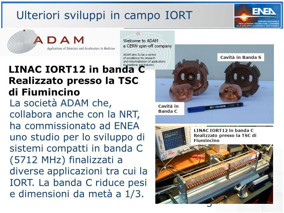 5 La società ADAM che, collabora anche con la NRT, ha commissionato ad ENEA uno studio per lo sviluppo di sistemi compatti in banda C (5712 MHz) final