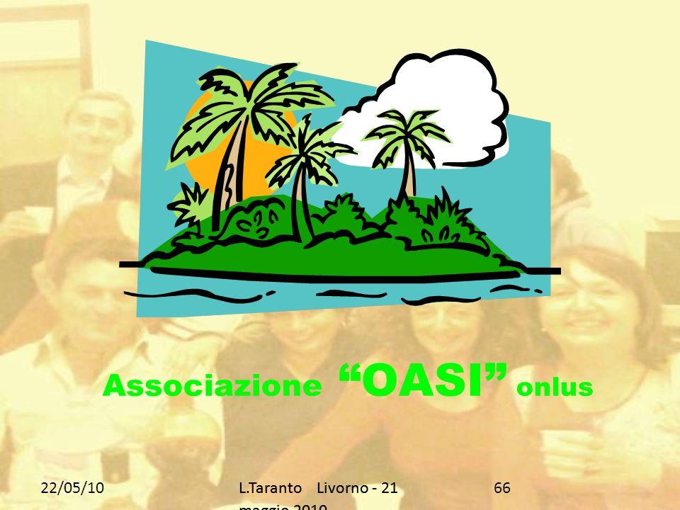 22/05/10L.Taranto Livorno - 21 maggio 2010 1717 Rapporti con i Medici di Base e il Pronto Soccorso …uscire dalla porta girevole …
