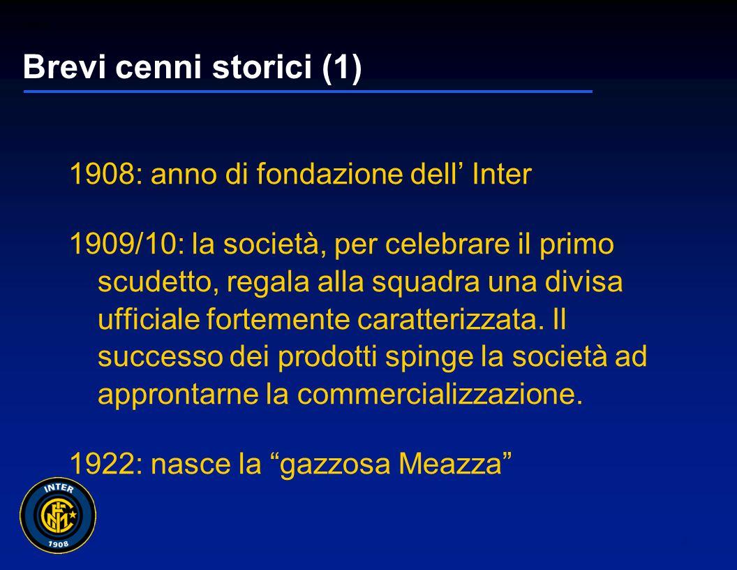 01265sc_97 2 Agenda Il marchio ed il suo sviluppo commerciale: brevi cenni storici Il merchandising: la sua importanza per la società Il merchandising