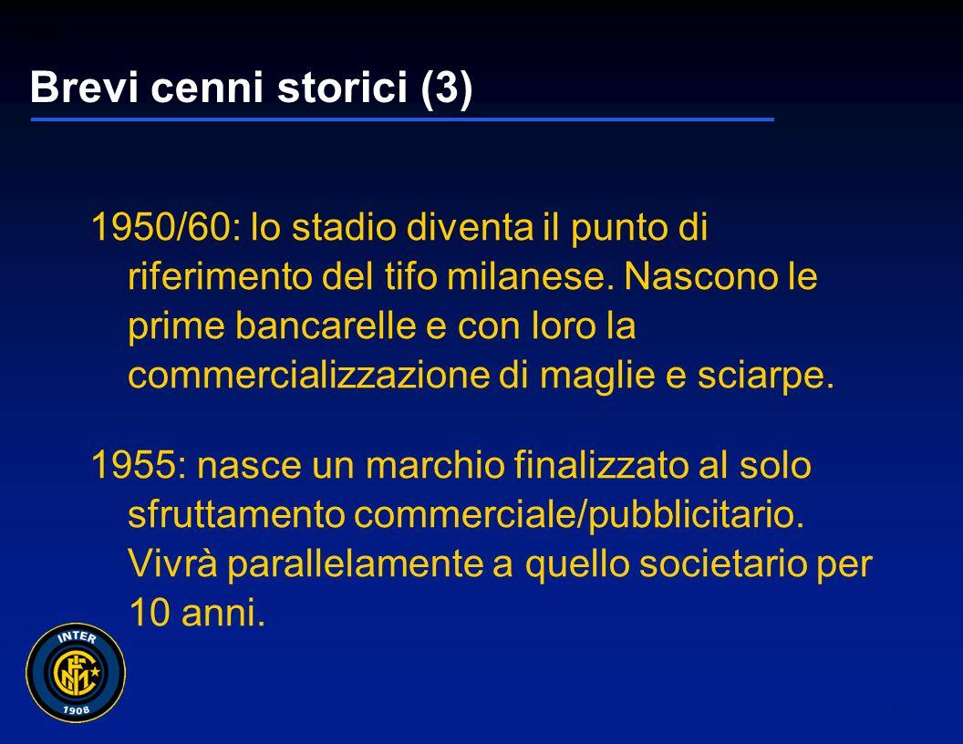 01265sc_97 4 Brevi cenni storici (2) 1930/40: diventano sempre più diffusi prodotti e gadget distribuiti dalla società: nascono così spille, foulard,