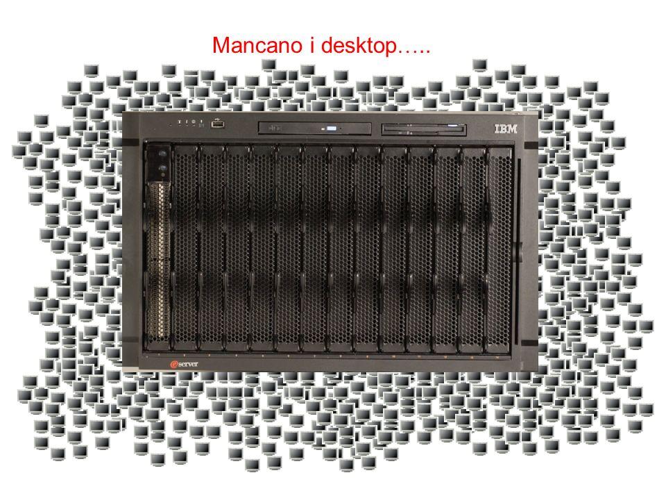 Mancano i desktop …..