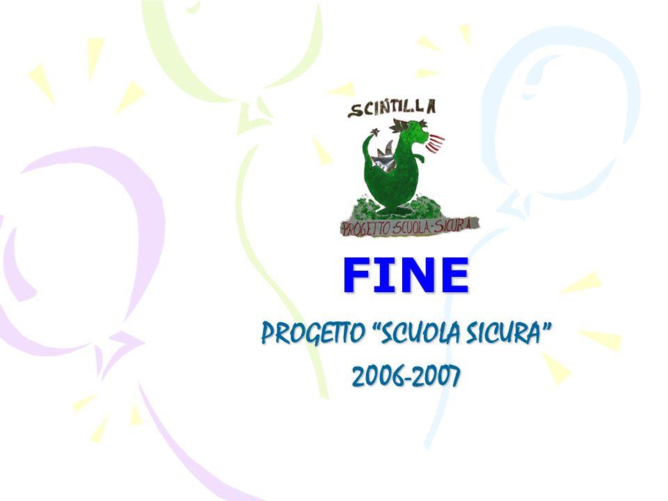 FINE PROGETTO SCUOLA SICURA 2006-2007