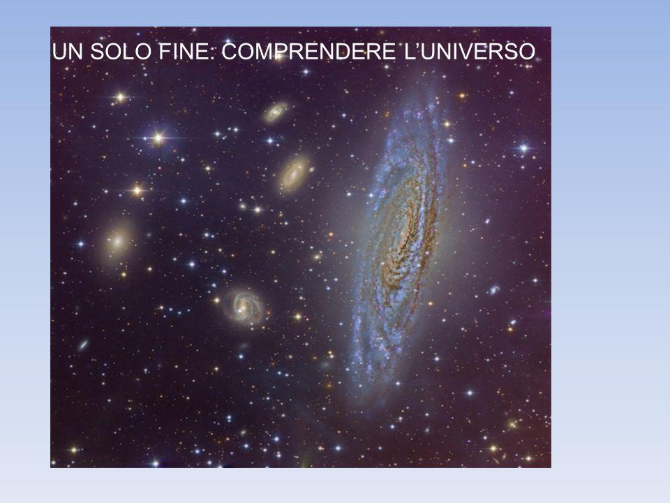 UN SOLO FINE: COMPRENDERE LUNIVERSO