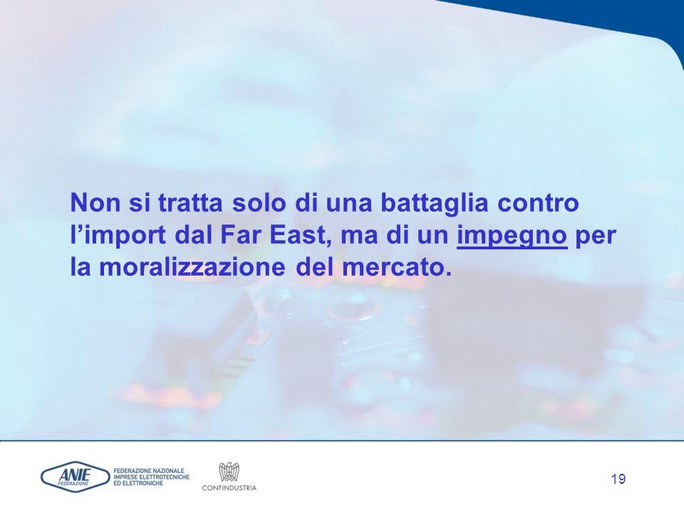 18 Un maggiore impegno del MAP è tuttavia indispensabile per passare dal fermo in dogana al definitivo blocco della circolazione delle merci e/o alla loro distruzione.