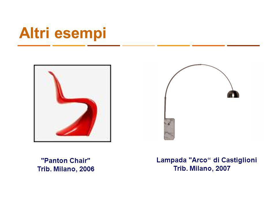 Altri esempi Lampada