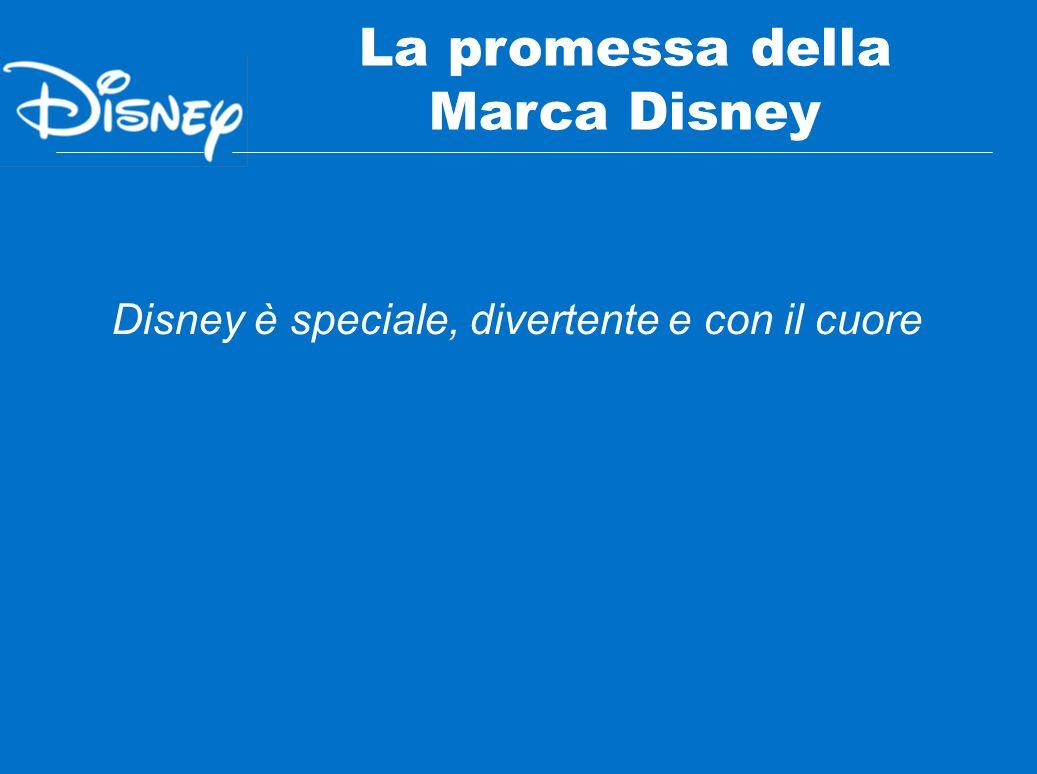 Disney è speciale, divertente e con il cuore La promessa della Marca Disney