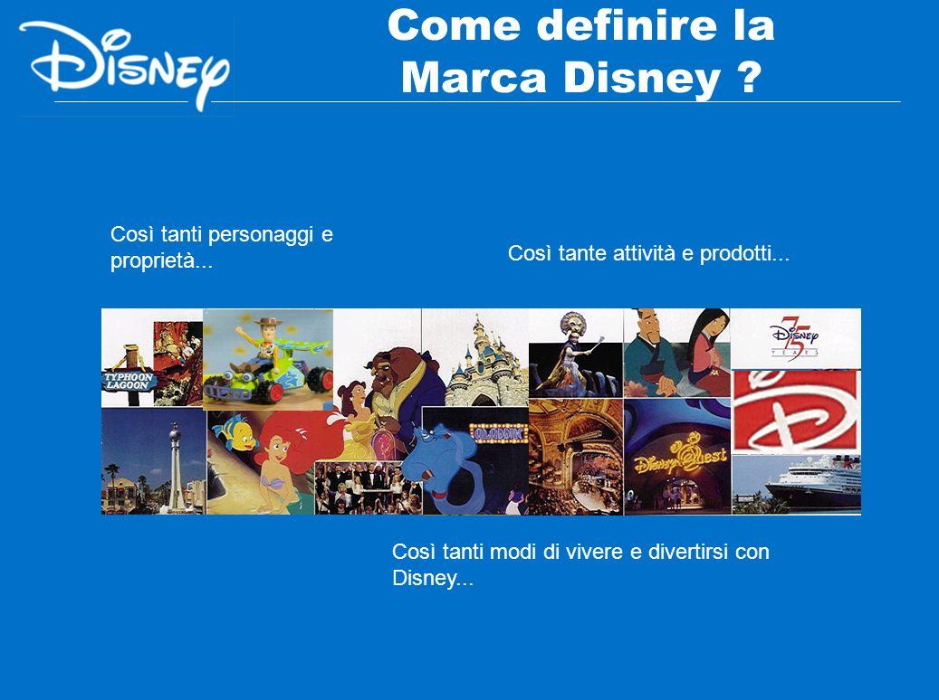 Come definire la Marca Disney ? Così tanti personaggi e proprietà... Così tante attività e prodotti... Così tanti modi di vivere e divertirsi con Disn