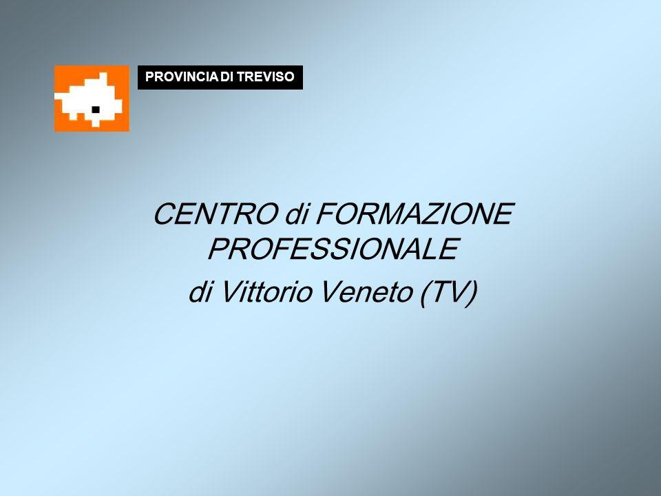 CENTRO di FORMAZIONE PROFESSIONALE di Vittorio Veneto (TV) PROVINCIA DI TREVISO