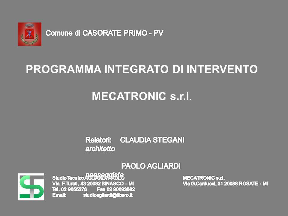 PROGRAMMA INTEGRATO DI INTERVENTO MECATRONIC s.r.l.