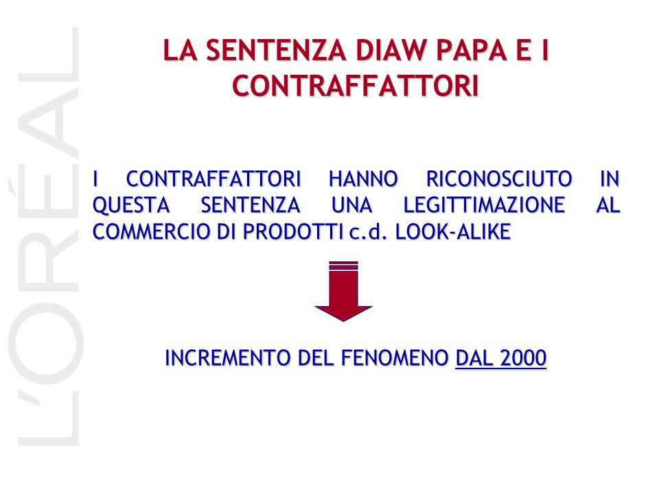 STRATEGIE 1.PROMUOVERE INSTAURAZIONE DI GIUDIZI CIVILI: in particolare cercare di colpire il patrimonio dei contraffattori.