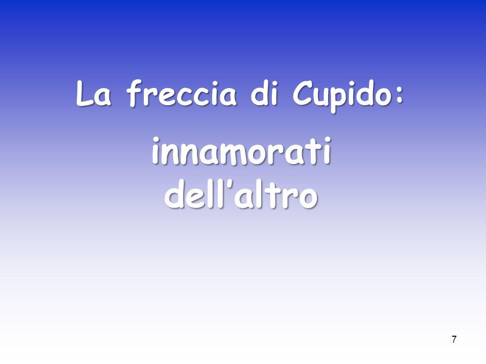 7 La freccia di Cupido: innamorati dellaltro