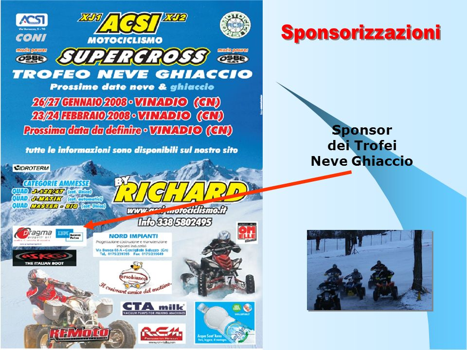 Sponsor dei Trofei Neve Ghiaccio