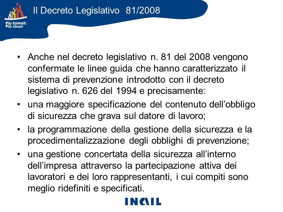 Anche nel decreto legislativo n.
