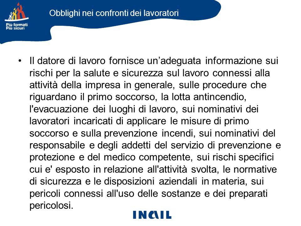 I soggetti del sistema di prevenzione aziendale secondo il D.