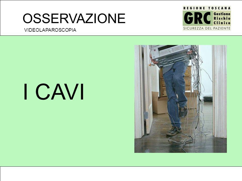 OSSERVAZIONE VIDEOLAPAROSCOPIA I CAVI