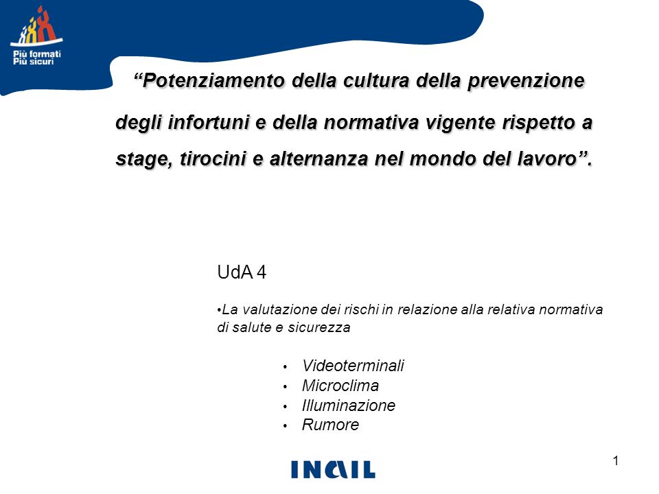 2 La valutazione di alcuni rischi specifici in relazione alla relativa normativa di igiene del lavoro VIDEOTERMINALI MICROCLIMA ILLUMINAZIONE RUMORE Rischi specifici