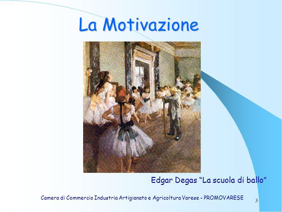 3 Edgar Degas La scuola di ballo La Motivazione Camera di Commercio Industria Artigianato e Agricoltura Varese - PROMOVARESE