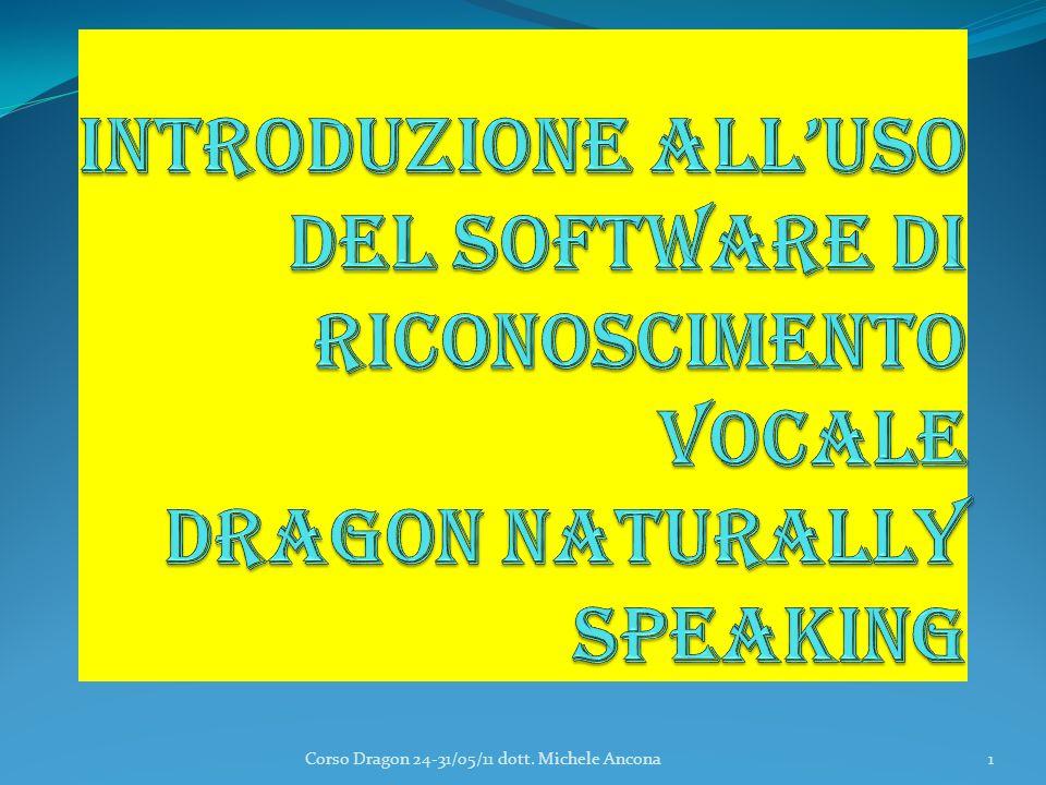 Corso Dragon 24-31/05/11 dott. Michele Ancona1