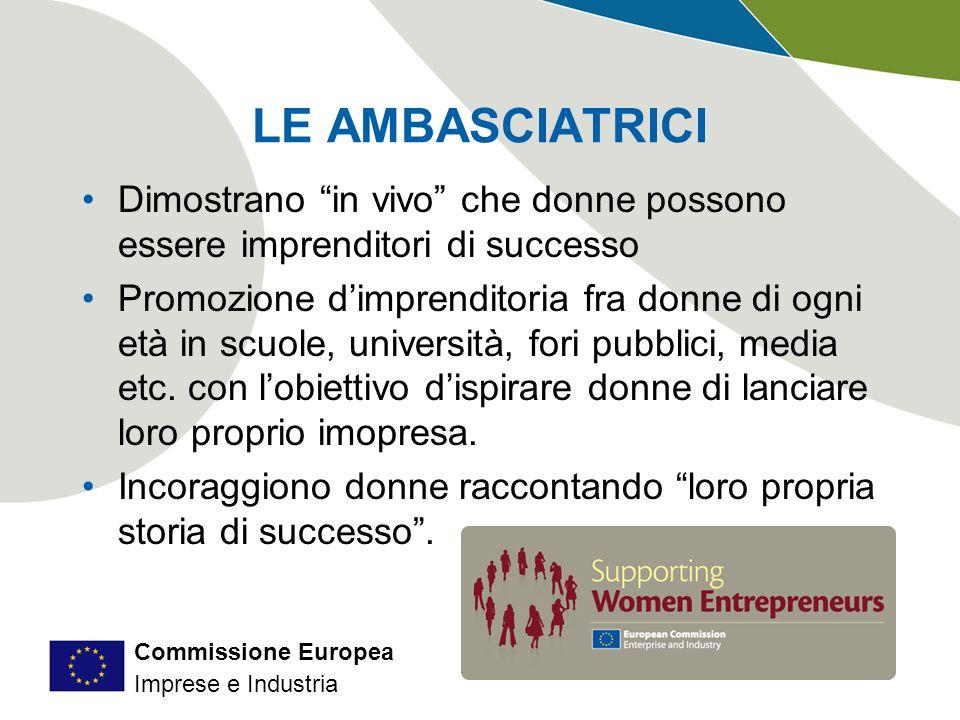 Commissione Europea Imprese e Industria Lo Small Business Act per lEuropa Struttura 10 Principi base Misure legislative Misure non legislative Obiettivi Migliorare lapproccio politico globale Principio Think Small First Promuovere la crescita delle PMI