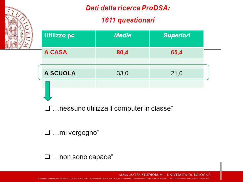 Formazione agli studenti: Utilizzo strumenti compensativi a scuola a Bologna: