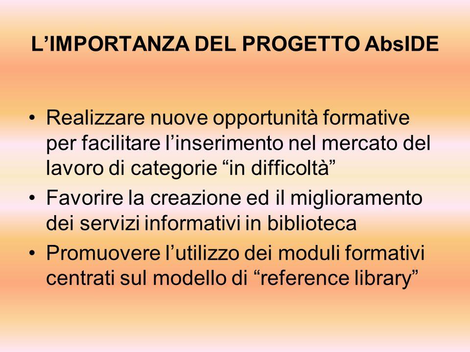 COLLABORAZIONI: UIC (Unione Italiana Ciechi) Istituto Sereni Opera Don Guanella ADA (Associazione Diritti degli Anziani) ABIO (Associazione per il Bambino in Ospedale)