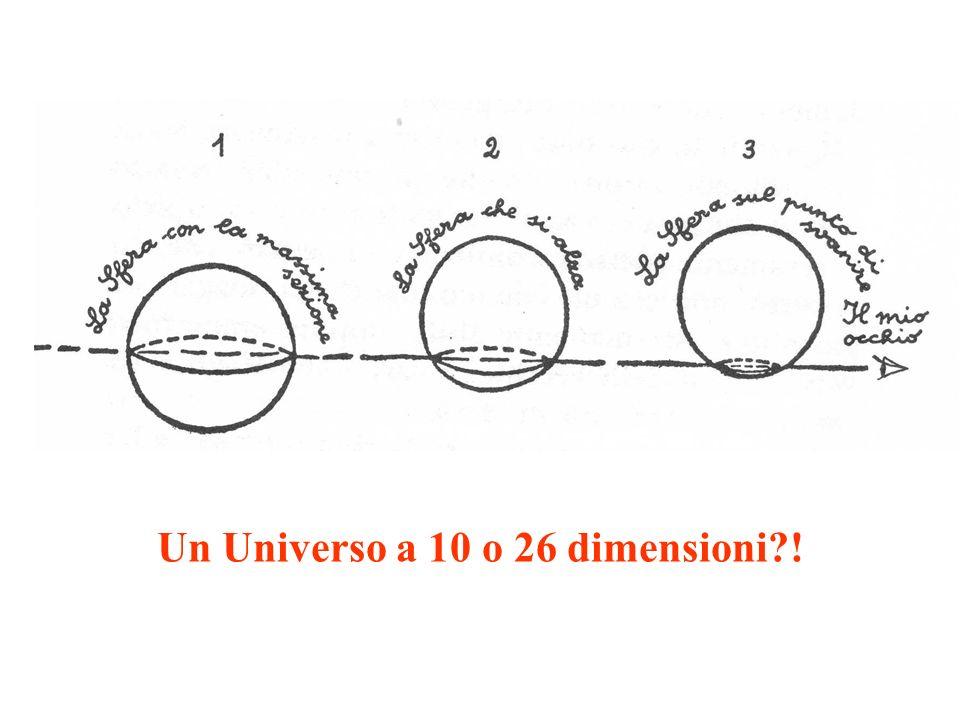 Un Universo a 10 o 26 dimensioni?!
