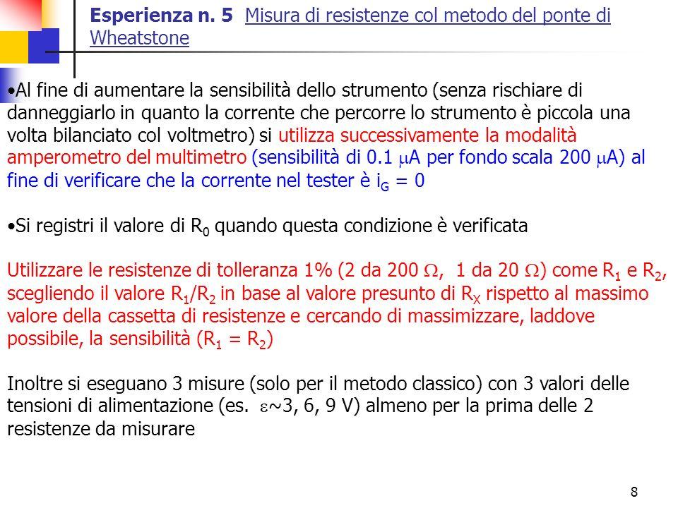9 Esperienza n.