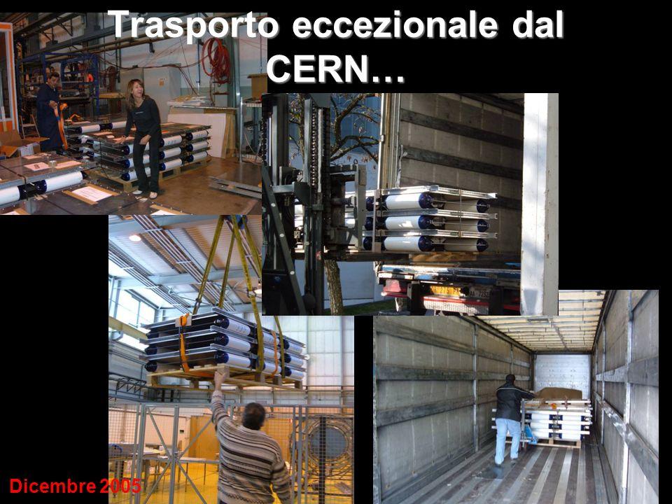 …alle 7 città italiane Torino Cagliari Bologna LNGS Lecce Catania Ginevra Dicembre 2005