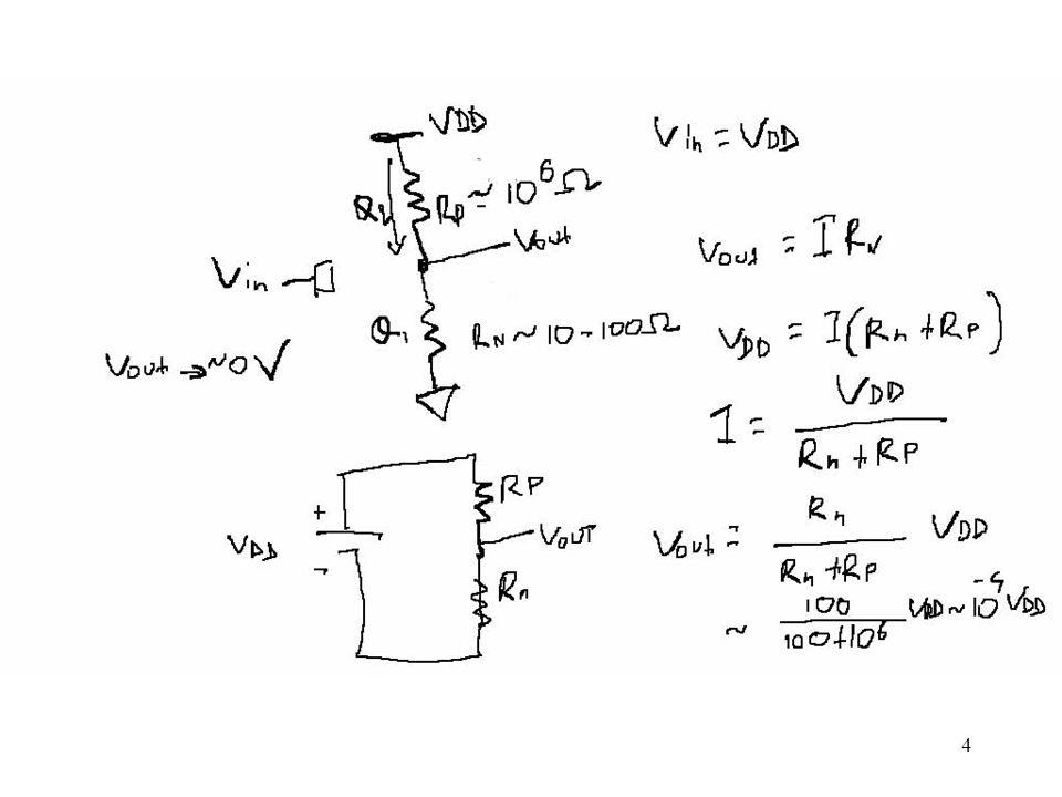 25 Circuito equivalente di Thevenin Qualunque circuito a due terminali contenente solo generatori di tensione e resistenze può essere modellato da un equivalente di Thevenin formato da un singolo generatore con una resistenza in serie: Tensione di Thevenin: tensione a circuito aperto Resistenza di Thevenin: tensione di Thevenin divisa per la corrente di corto circuito V DD