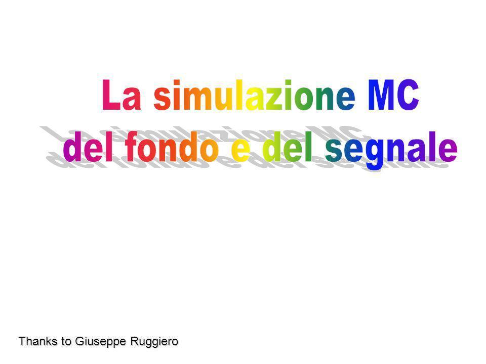 Thanks to Giuseppe Ruggiero