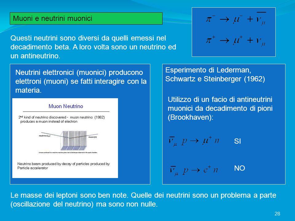 Questi neutrini sono diversi da quelli emessi nel decadimento beta. A loro volta sono un neutrino ed un antineutrino. Neutrini elettronici (muonici) p