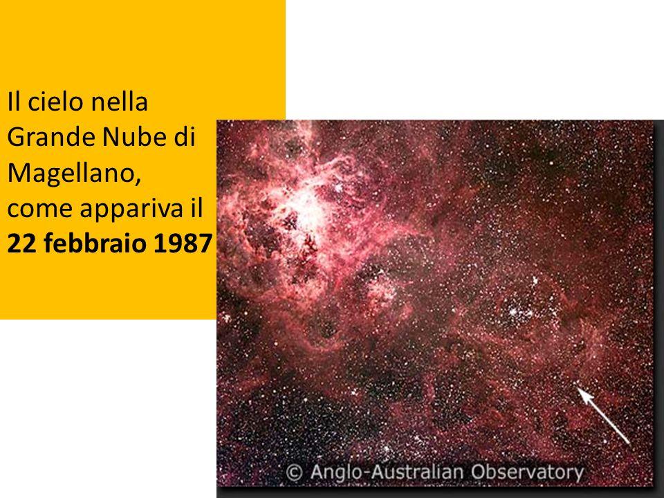 Il cielo nella Grande Nube di Magellano, come appariva il 22 febbraio 1987