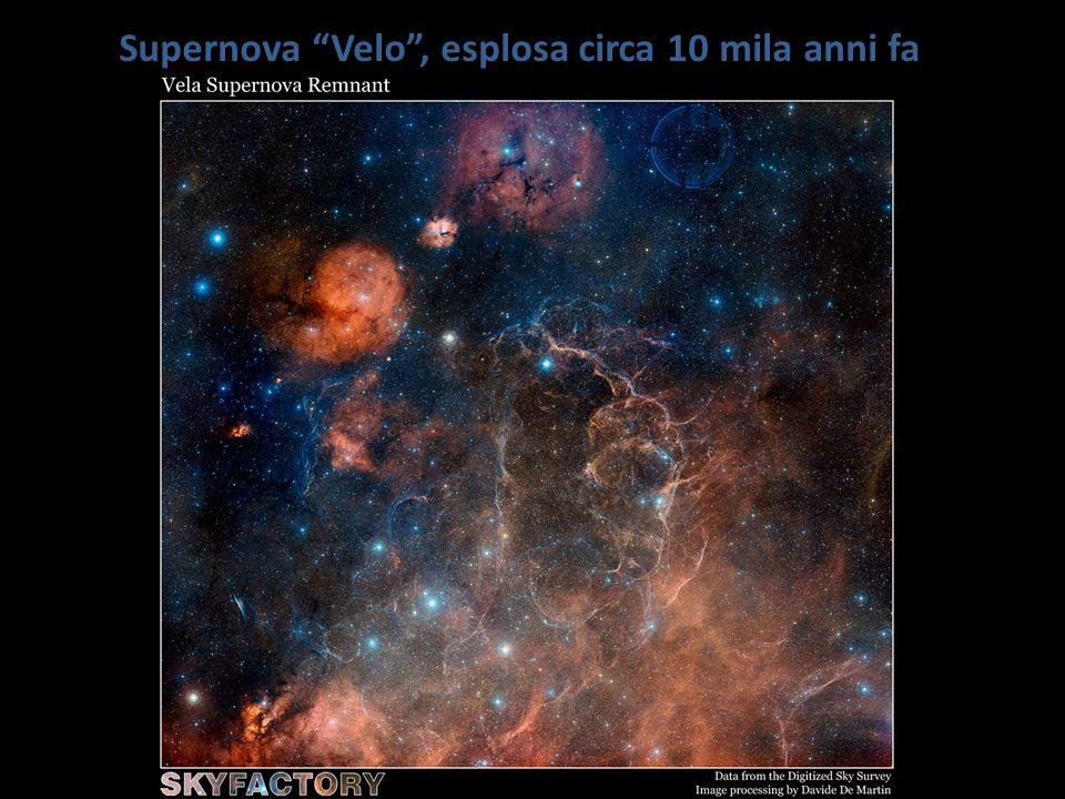 Supernova Velo, esplosa circa 10 mila anni fa