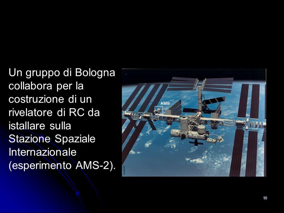 9 Misurare i RC Primari Occorre andare molto in alto, al limite dellatmosfera, per intercettare il RC prima che interagisca coi nuclei dellAtmosfera (con palloni, satelliti, base spaziale).