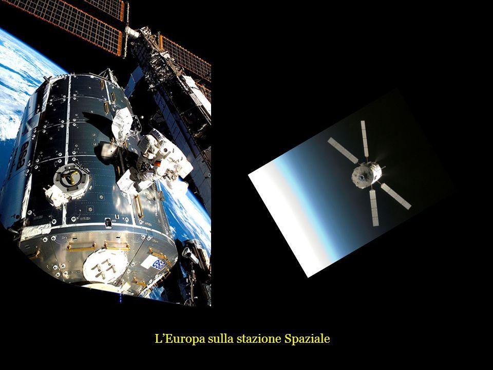LEuropa sulla stazione Spaziale