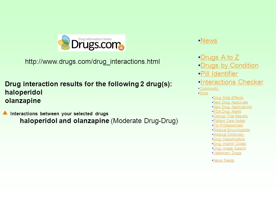News Drugs A to Z Drugs by Condition Pill Identifier Interactions Checker Community More Drug Side Effects New Drug Approvals New Drug Applications FD
